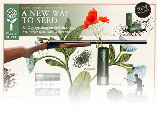 花种子弹种花工具
