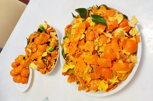 桔子皮怎么发酵成花肥