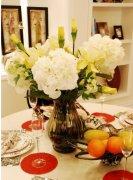 餐厅花卉摆放布置要点和注意事项